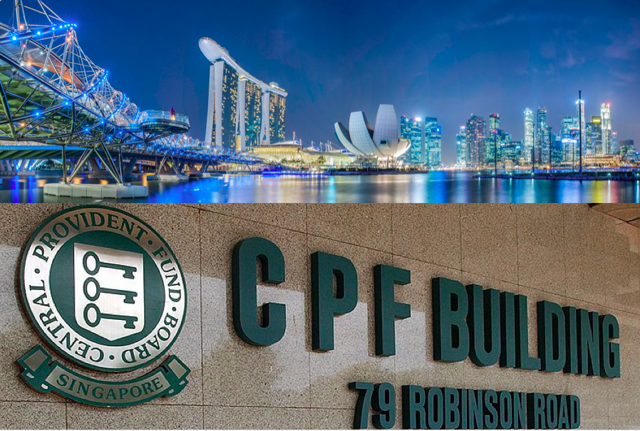 use CPF money to buy residential property Singapore
